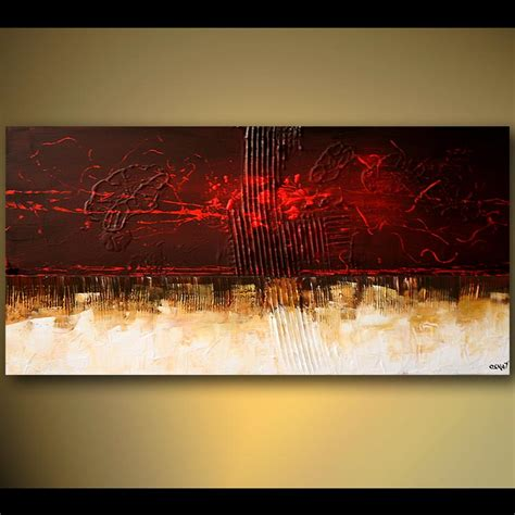 abstract painting contemporary painting home decor horizontal 5491