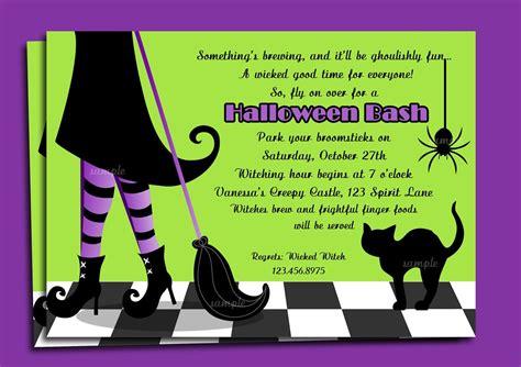 halloween invitation templates Halloween Invitations