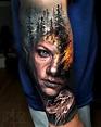 Morphing tattoo work by Arlo DiCristina : Best_tattoos