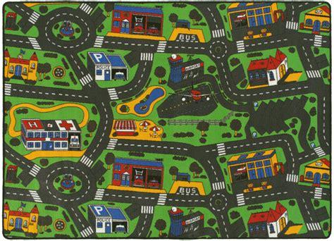 tapis de jeu circuit voiture ville    cm