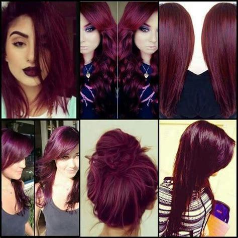 burgundy hair color ideas 25 best ideas about burgundy hair on