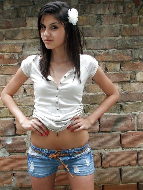 Hot Teen Stunning Dark Haired Teens Mostly Small Tits