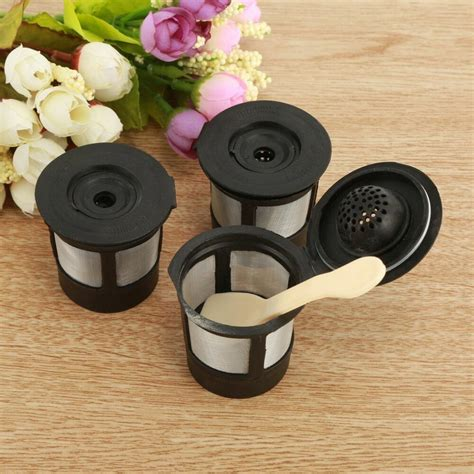Use our pods with circolo, melody, genio 2, mini me, mini, keurig, and more. 3Reusable Refillable K-Cup Coffee Filter Pod for Keurig ...