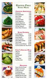 Gluten Free Sushi Page For Green Leaves Chinese Restaurant