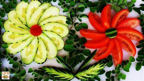 cucumber salad decoration amazing cucumber tomato decoration with maringa