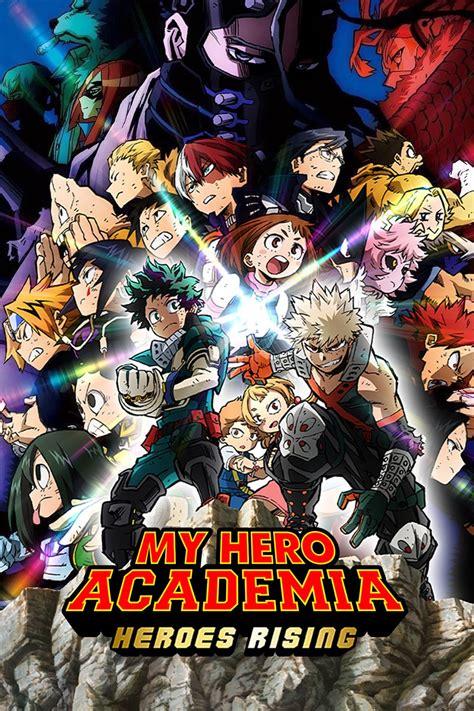 hero academia heroes rising dvd release date redbox
