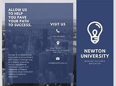Customize 79+ College Brochure templates online Canva