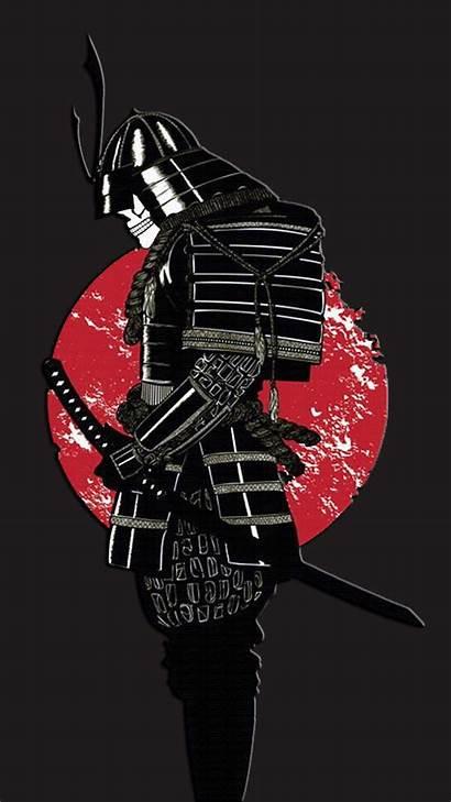 Samurai Iphone Phone Wallpapers Afro Dark Japanese
