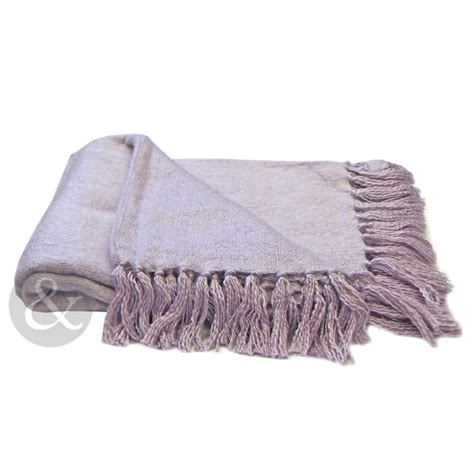 Throwovers For Settees by Plain Woven Fringe Throw Soft Acrylic Bed Blanket Sofa