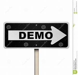 Demo Product Demonstration Road Sign Service Example ...