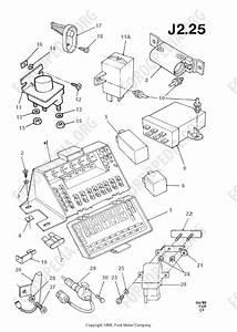 Ford Transit Mkiii  1985-1991  Parts List  J2 25