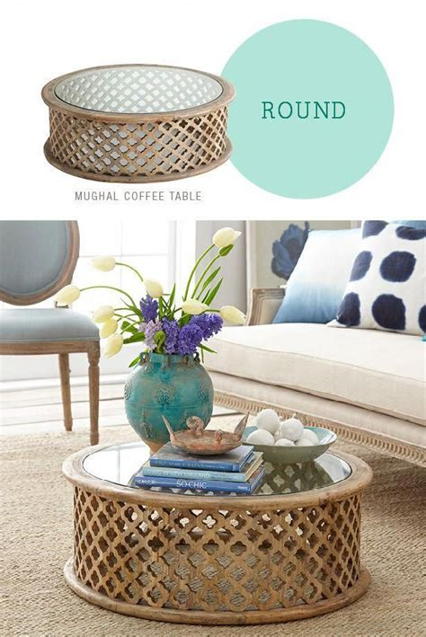 We use it to hold essentials such as books and. #BestCoffeeBeans #HowtoCoffe | Round coffee table decor, Coffee table, Round coffee table living ...