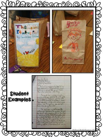 student examples  paper bag book report love