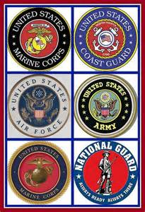 5 Branches Armed Forces