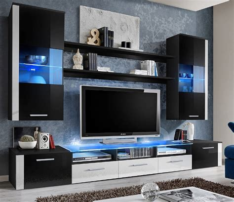 modern tv cabinets for living room amazon com fresh modern wall unit entertainment centre