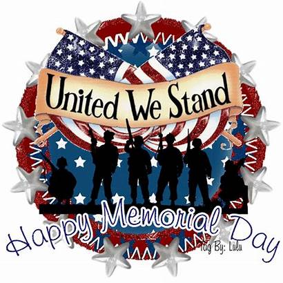 Memorial Happy Stand United Quotes Animated Glitter