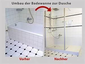 Umbau Wanne Zur Dusche : wanne zur dusche die begehbare dusche in 8 std umgebaut ~ Markanthonyermac.com Haus und Dekorationen