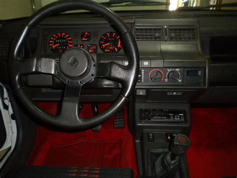interieur 5 gt turbo renault 5 gt turbo phase 2 d avril 1990