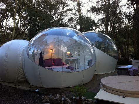 chambre bulle paca bulle transparente lo du lac nuit insolite