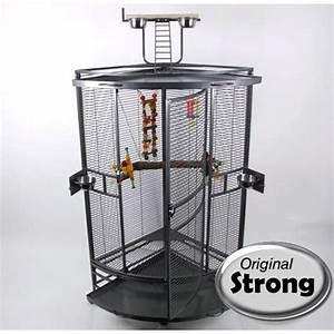 Cage A Perroquet : cage d 39 angle perroquet nadia xl ~ Teatrodelosmanantiales.com Idées de Décoration