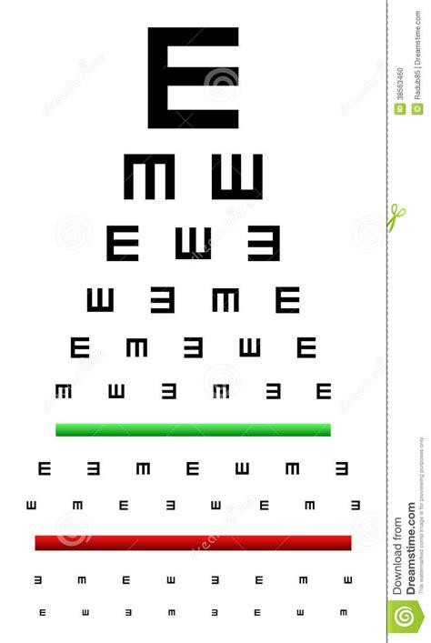 Chart printable ?id= ?hypixel : Eye Chart Test stock vector. Image of background, optician - 38563460