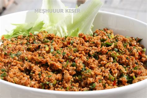 my cuisine kisir bulgur my most favorite recipe among