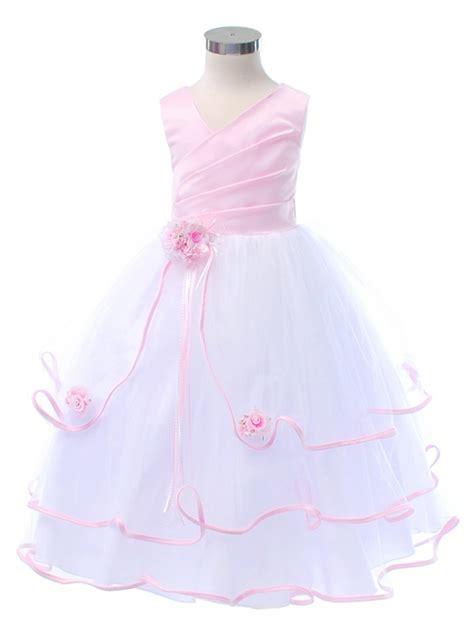 pink and white l pink and white flower dresses wedding dress gallery