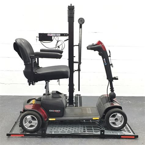 wheelchair carrier hold n go scooter lift wheelchair