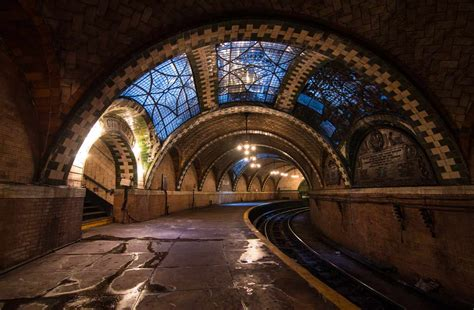 city hall station  decommissioned terminal   nyc