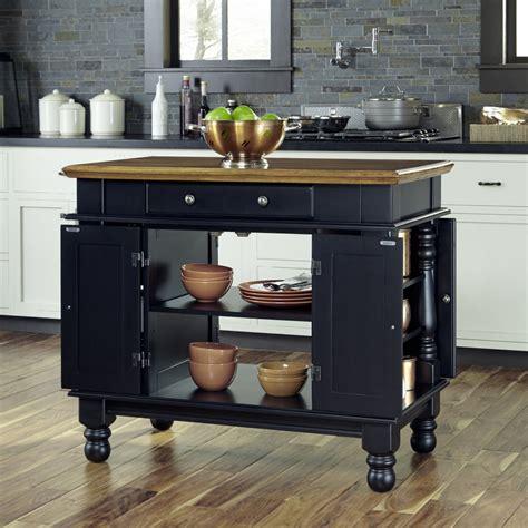 americana black kitchen island home styles
