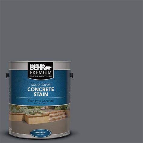 behr premium  gal pfc  flat top solid color concrete