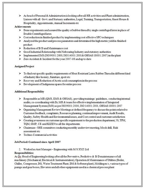 Us Resume Sle Doc by Official Resume Format Doc 28 Images 6 Cv Cover Letter Sle Doc Fillin Resume 6 Cv Cover