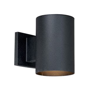 vaxcel chiasso textured black two light 5 inch outdoor