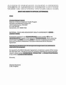 Sample invoice cover letter in word and pdf formats for Sample letter for invoice payment