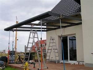 Terrassenüberdachung Ohne Baugenehmigung : die terrassen berdachung entsteht baublog von katja alexey ~ Lizthompson.info Haus und Dekorationen