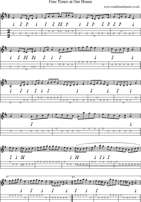 our house chords american time scores and tabs for mandolin