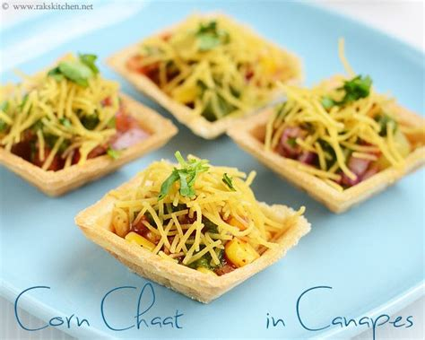 canape filling ideas corn in canapes starter dishes