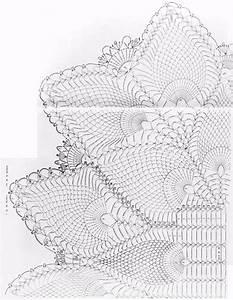 Crochet Center Table Oval Bloom