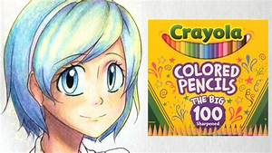 How to Color with Crayola Colored Pencils Part One: Skin ...