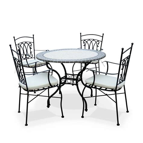 table de jardin avec chaise emejing table de jardin ronde suisse pictures awesome