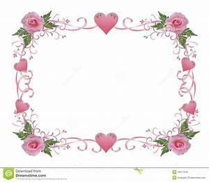 Cadre Photo Mariage : le rose de cadre d 39 invitation de mariage a mont illustration stock illustration du ~ Teatrodelosmanantiales.com Idées de Décoration