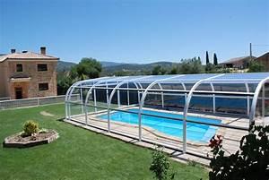 Abri Haut Piscine : r alisations abri de piscine net abris abri de piscine ~ Premium-room.com Idées de Décoration