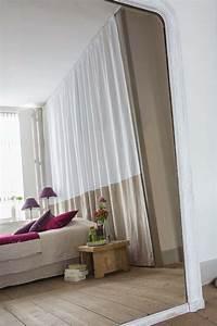 Rideau Avec Ruflette : confection en lin naturel et lin blanc avec finition ~ Premium-room.com Idées de Décoration