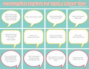50 Conversation Starters for Family Dinner Time - Finding