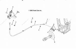 Polaris Side By Side 2007 Oem Parts Diagram For Brake