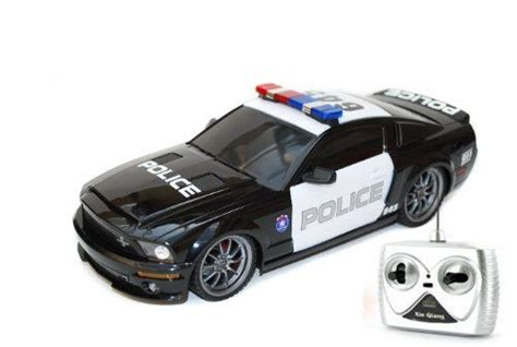 1/18 Ford Shelby Gt500 Super Snake Radio Control Police