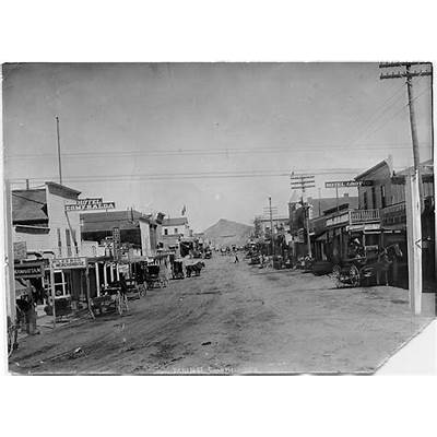 Rhyolite and Goldfield Nevada / The Gold Mining Boom Towns