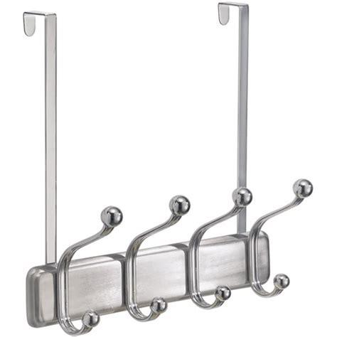 the door coat rack the door coat rack chrome in the door hooks