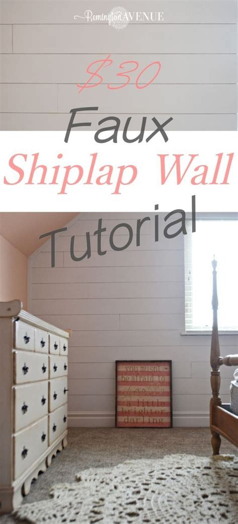 Faux Shiplap Wall by Faux Shiplap Wall Things For Home Home Decor Faux