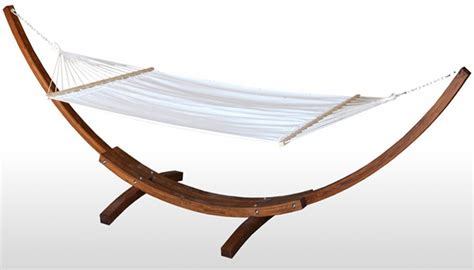 Hammock And Wooden Stand by Work Hammock Andrew Woolbert